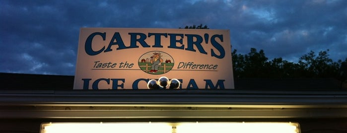 Carters Ice Cream is one of Haverhill.