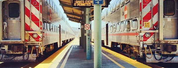 San Francisco Caltrain Station is one of Lost in Transit.