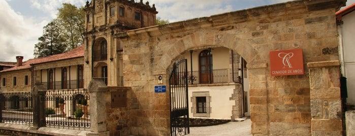 Cenador de Amos is one of Restaurantes recomendables.
