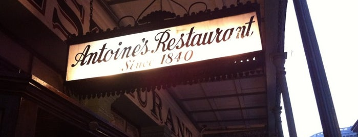 Antoine's Restaurant is one of NOLA.