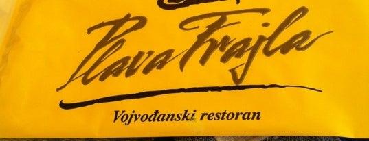 Plava frajla is one of Restoran-kriticar.com.