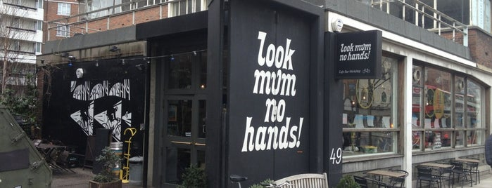 look mum no hands! is one of FIVE BEST: Wifi spots with good grub.