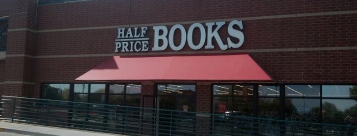 Half Price Books is one of frequent flyers :).