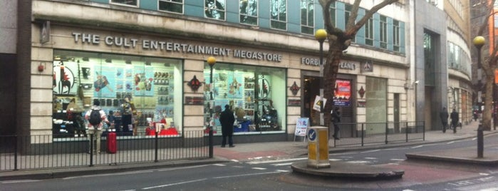Forbidden Planet is one of Places to Visit in London.