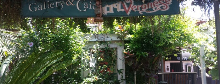 Veronese Gallery Cafe is one of Socal.