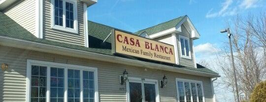 Casa Blanca Mexican Restaurant is one of Andover Area Restaurants.