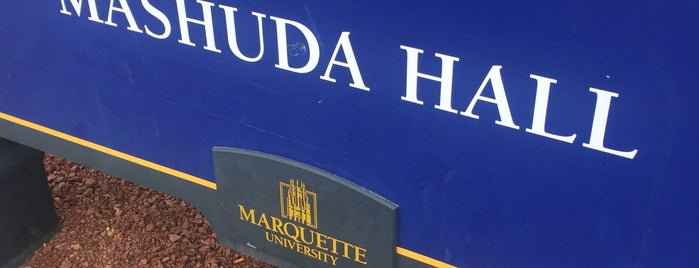 Mashuda Hall is one of Be The Difference (Marquette University).