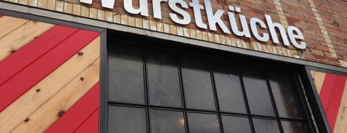 Wurstküche is one of The Westside's best food.