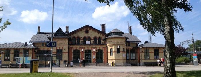Ängelholms Station is one of Tågstationer - Sverige.