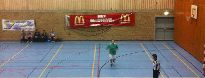 Sporthal Het Vledder is one of Sporthallen NBB Promotiedivisie 2011/2012.