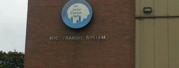 NYCT DOB - Jackie Gleason Depot Brooklyn Divison is one of My favorite places :).