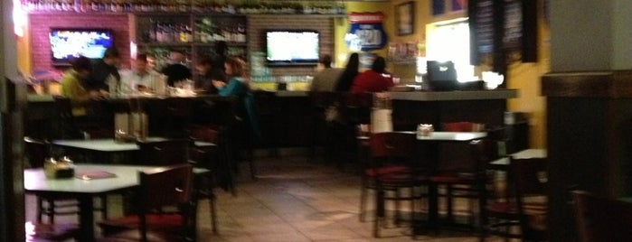 Mellow Mushroom Pizza is one of Downtown Spartanburg Small Biz.