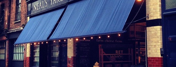 Neal's Yard Dairy is one of London best.