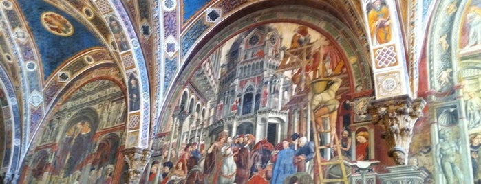 Santa Maria della Scala is one of 36 hours in...Siena.