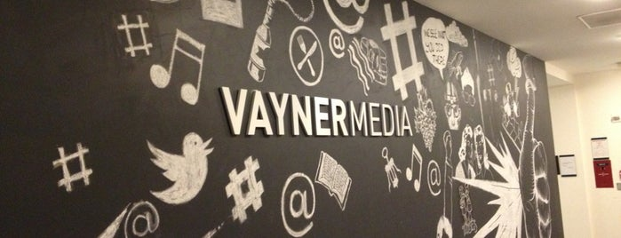 VaynerMedia HQ is one of Design & Internet NYC.