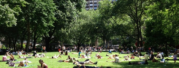 Madison Square Park is one of Wi-Fi in NYC Parks.