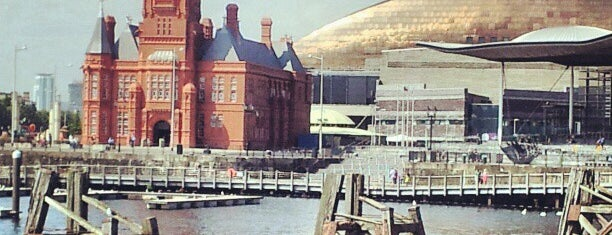 Cardiff Bay is one of Favourite Great Outdoors.