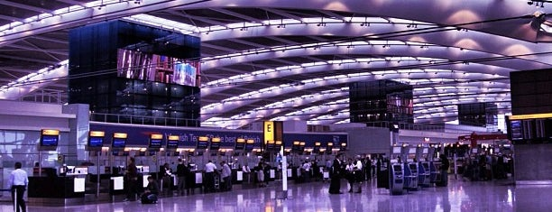 London Heathrow Airport (LHR) is one of Lost in Transit.