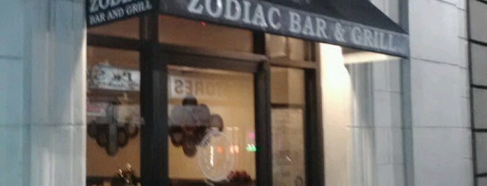 Zodiac Bar & Grill is one of Downtown Jacksonville.