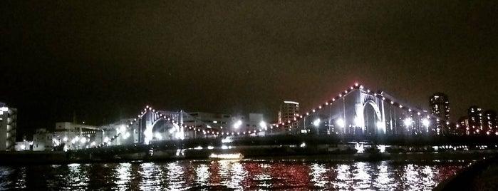 首都高 清洲橋出口 is one of 首都高6号向島線・三郷線.