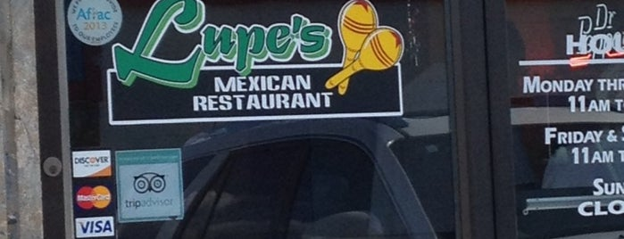 Lupe's is one of Top 10 dinner spots in Flint, MI.