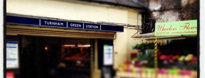 Turnham Green London Underground Station is one of Tube Challenge.