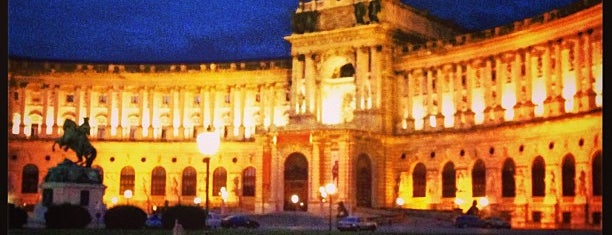 Hofburg Palace is one of 04 Vienna.