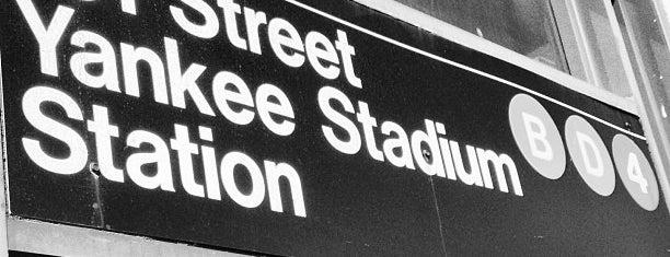 MTA Subway - 161st St/Yankee Stadium (4/B/D) is one of NYC Subways 4/5/6.
