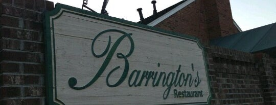 Barrington's Restaurant is one of Seafood Trail.