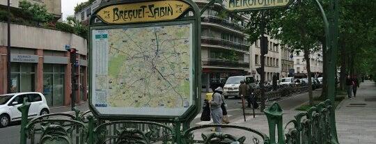 Métro Bréguet—Sabin [5] is one of Métro de Paris.