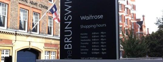 Waitrose is one of London best.