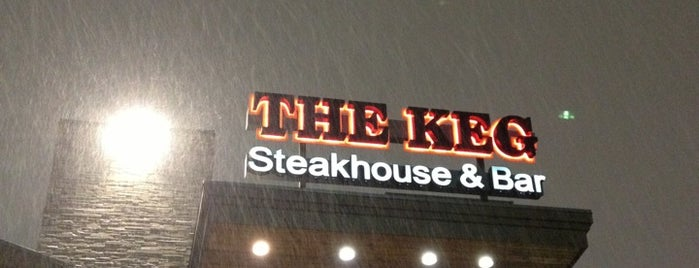 The Keg Steakhouse + Bar is one of Restaurants.