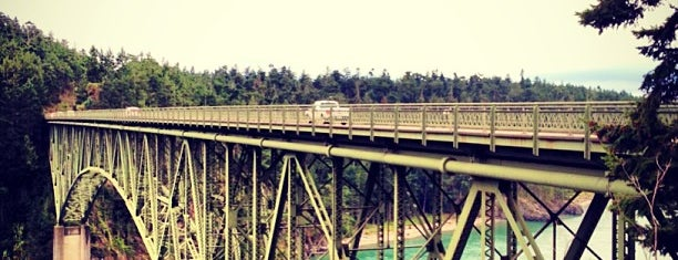 Deception Pass Bridge is one of Things to do in Washington.