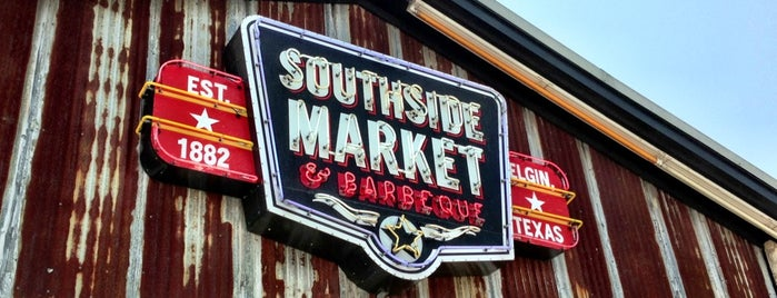 Southside Market & BBQ is one of The BEST of Texas BBQ!.