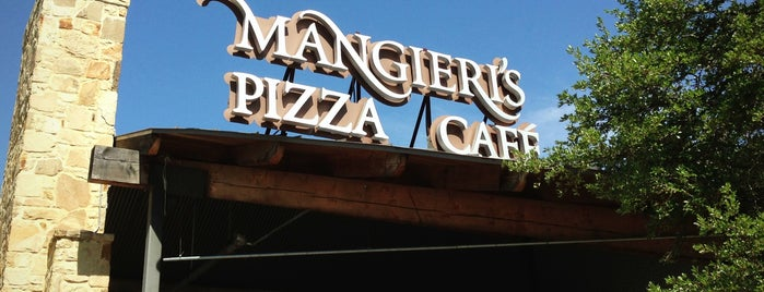 Mangieri's Pizza Café is one of Austin, TX.