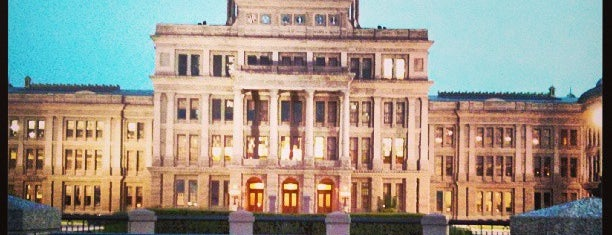 Texas State Capitol is one of Hook 'Em Horns- Austin.