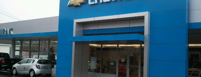 Mirak Chevrolet is one of Regular places visited.