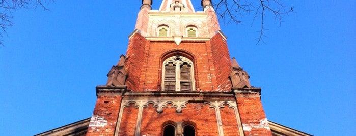 Anglikāņu Sv. Pestītāja baznīca is one of Baltā nakts 2011.