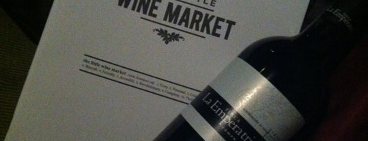 The Little Wine Market is one of Mah fravrit.