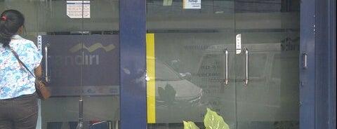Bank Mandiri is one of on job.
