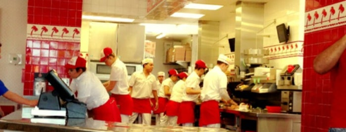In-N-Out Burger is one of Favorite Restaurants.
