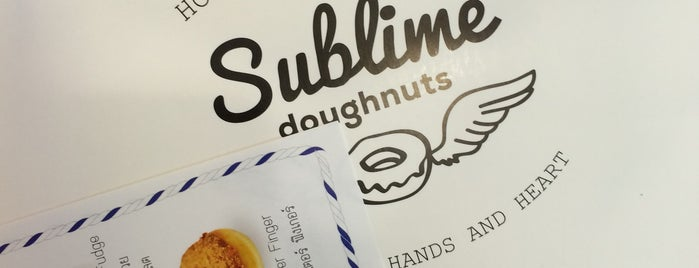 Sublime Doughnuts is one of 12PM Check-Ins.