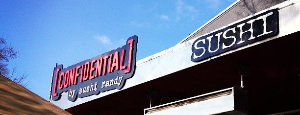 Sushi Confidential is one of South Bay.
