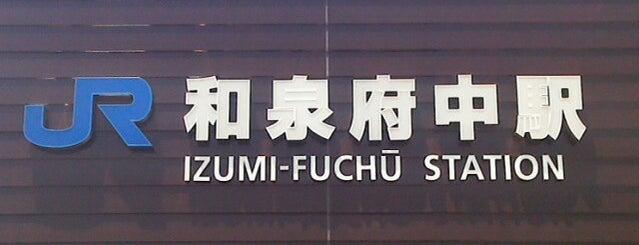 Izumi-Fuchū Station is one of 阪和線.