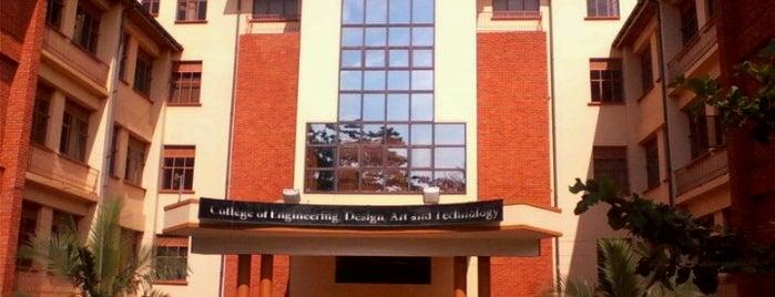 Makerere University CEDAT, School of Engineering is one of Universities/Colleges.