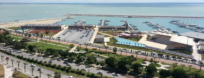 Mersin Marina is one of Top 10 places to try this season.