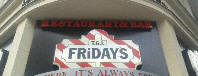 TGI Fridays is one of Bucket List for Fatasses.