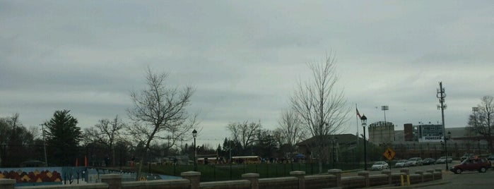 East Grand Rapids Track is one of Parks/Outdoor Spaces in GR.