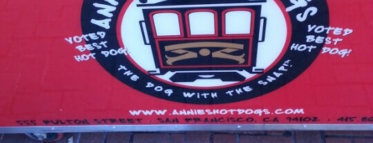Annie's Hot Dogs is one of Vegetarian Hot Dogs and Sausages.