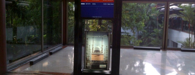 Gate D3 is one of Soekarno Hatta International Airport (CGK).